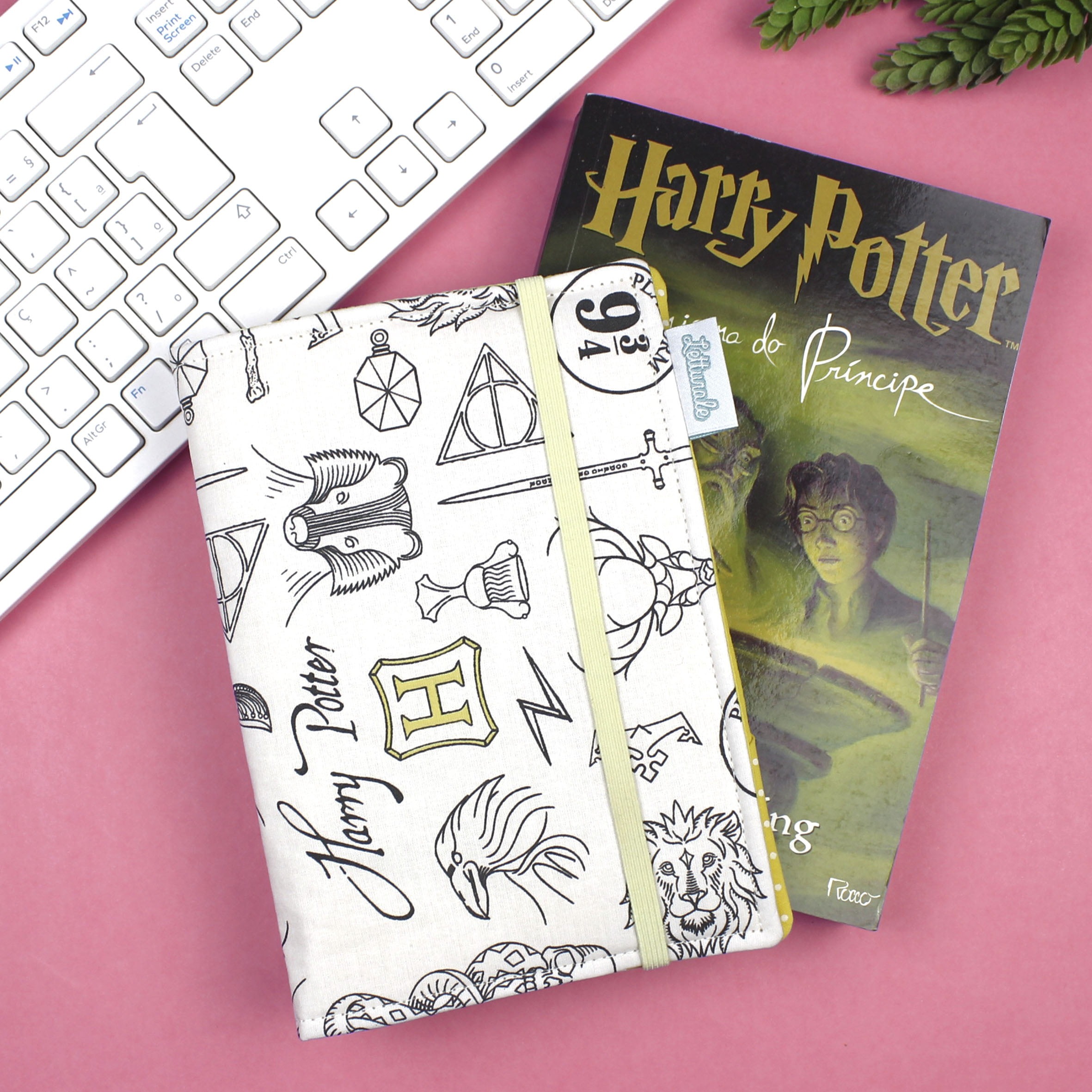 Capa para Kindle PaperWhite Harry Potter Elements