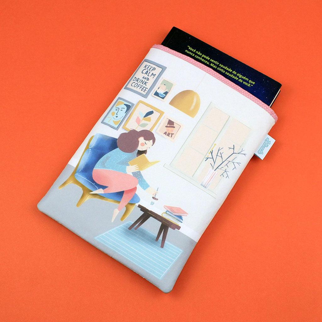 Book Sleeve Slim Keep Calm - PRAZO DE PRODUÇÃO: 15 DIAS ÚTEIS
