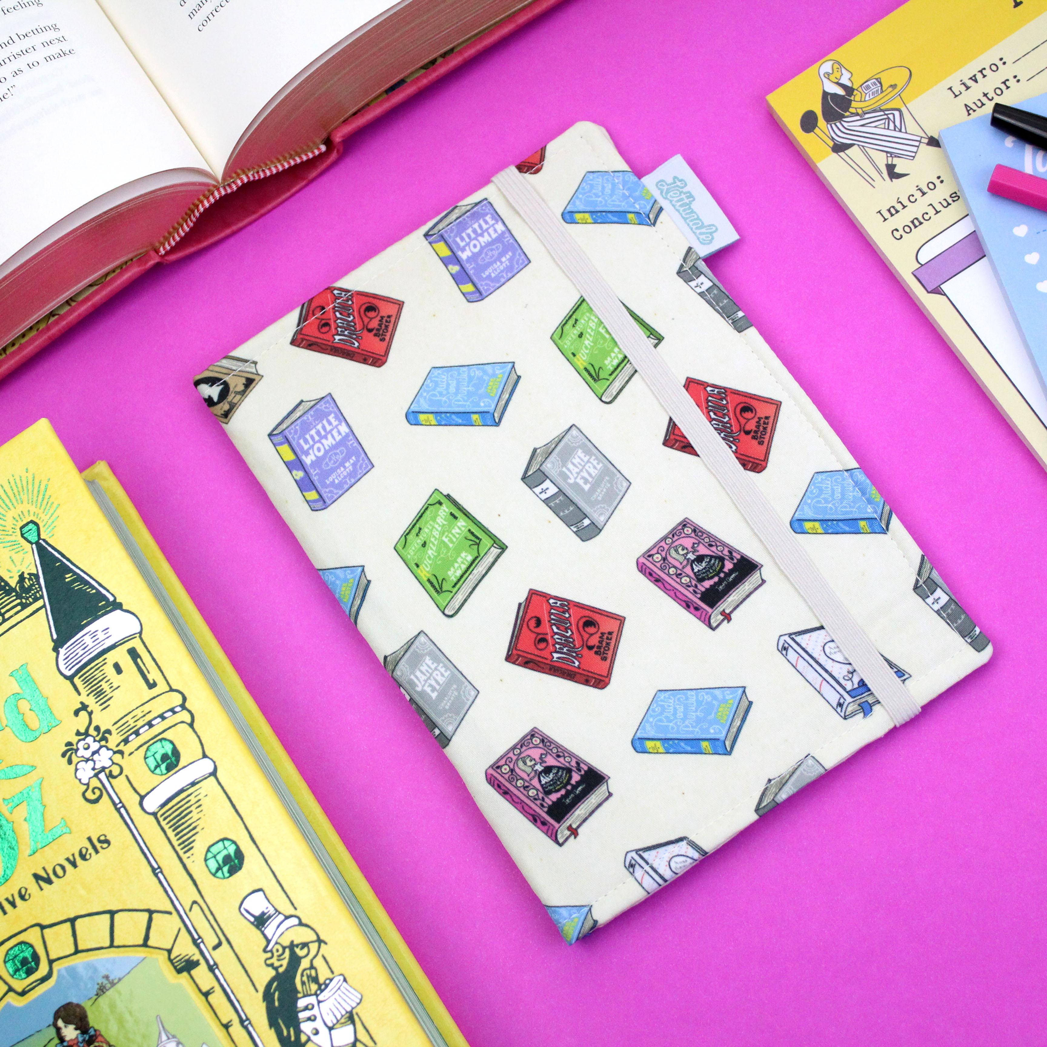 Capa para Kindle 8º e 10º Geração Clássicos Estrangeiros