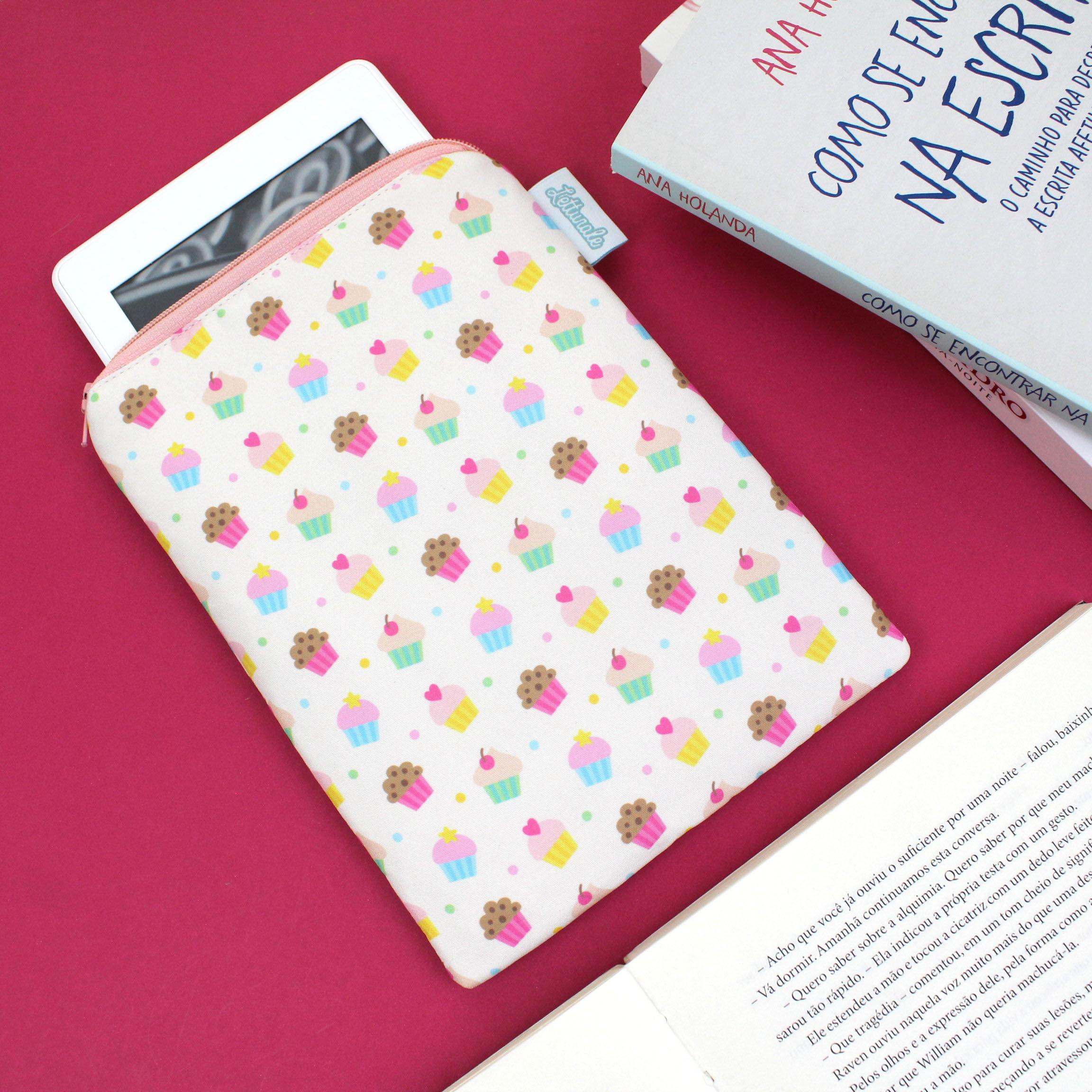Case para leitor digital Cupcakes