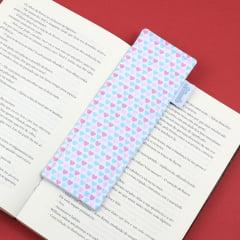 Marcador de páginas Azul e Rosa - PRONTA-ENTREGA