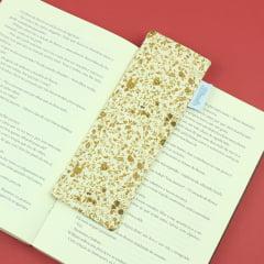 Marcador de páginas Floral Bege