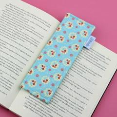 Marcador de páginas Flores (Fundo Tiffany)