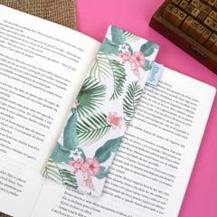 Marcador de páginas Flores Tropicais