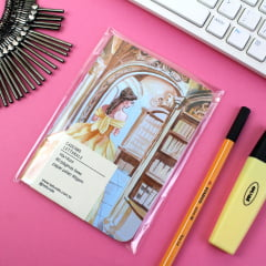 Caderno Letturale Beauty and The Beast - PRONTA-ENTREGA
