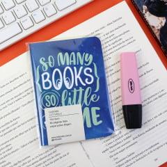 Caderno So Many Books - PRONTA-ENTREGA