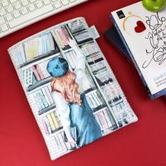 Book Sleeve Slim Booklover 1.0 - PRAZO DE PRODUÇÃO: 15 DIAS ÚTEIS