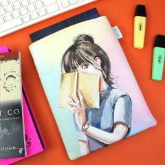 Book Sleeve Slim Booklover 2.0  - PRAZO DE PRODUÇÃO: 15 DIAS ÚTEIS