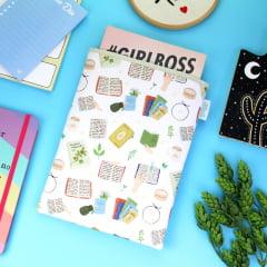 Book Sleeve Slim Cozy Book - PRAZO DE PRODUÇÃO: 15 DIAS ÚTEIS