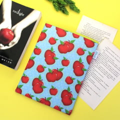 Book Sleeve Slim Maçãs | ESTAMPA EXCLUSIVA
