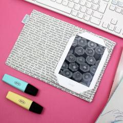 Capa para Kindle PaperWhite Book Page - PRONTA-ENTREGA