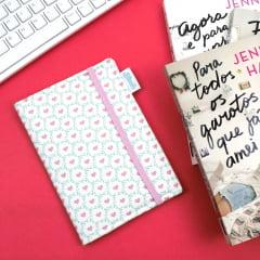 Capa para Kindle PaperWhite Corações - PRONTA-ENTREGA