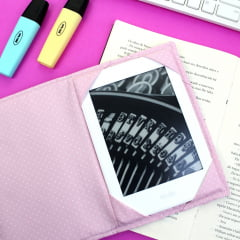 Capa para Kindle PaperWhite R.I.P. - PRONTA-ENTREGA