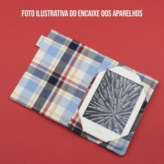 Capa para Kindle PaperWhite Library Card Letturale