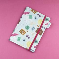 Capa para Kindle PaperWhite Viajante - PRONTA-ENTREGA