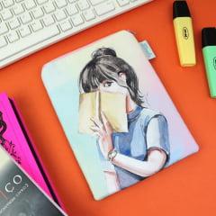Case para leitor digital Booklover 2.0 - PRAZO DE PRODUÇÃO: 15 DIAS ÚTEIS