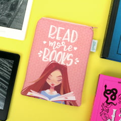Case para leitor digital Read More Books